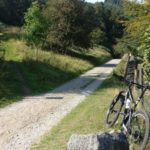 The bridleway up to Wooler Knoll